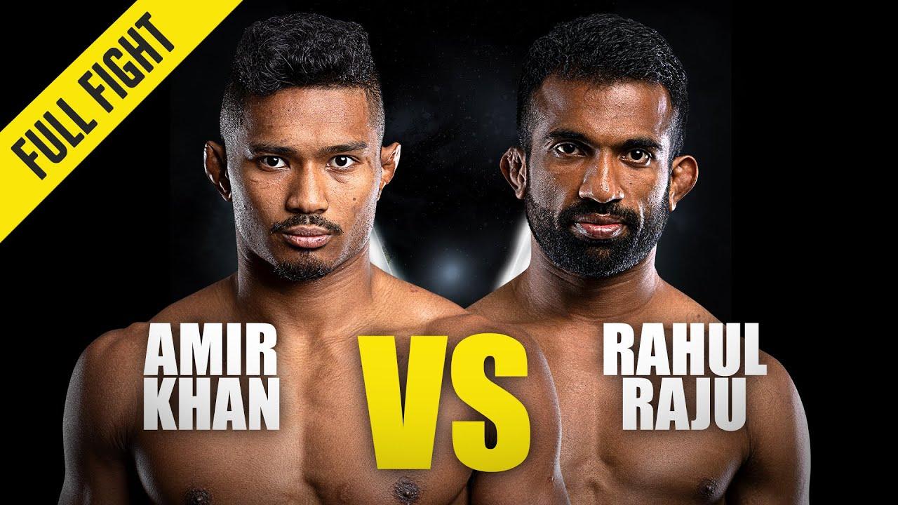 Amir Khan vs. Rahul Raju   ONE Championship Full Fight