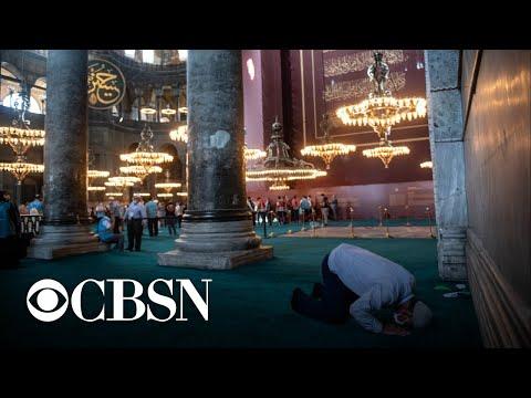 Istanbul landmark Hagia Sophia reopens as mosque