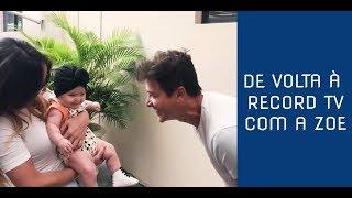 DE VOLTA À RECORD TV COM A ZOE | SABRINA SATO
