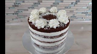 торт БАУНТИ рецепт и сборка торта БАУНТИ Очень просто и ВКУСНО КРЕМ для капкейков БАУНТИ