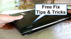 """Laptop Battery not charging """"plugged in, not charging"""" FREE FIX plus Laptop Battery Tips & Tricks"""