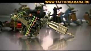Процесс нанесения татуировки и принцип работы тату машинки