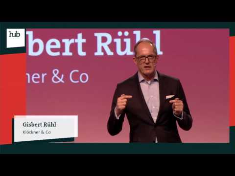 From Steel Distributor to Digital Industry Platform | Gisbert Rühl | hub conference
