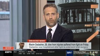 [BREAKING NEWS] Maxim Dadashev, 28, dies from injuries suffered from fight on Friday | ESPN SC