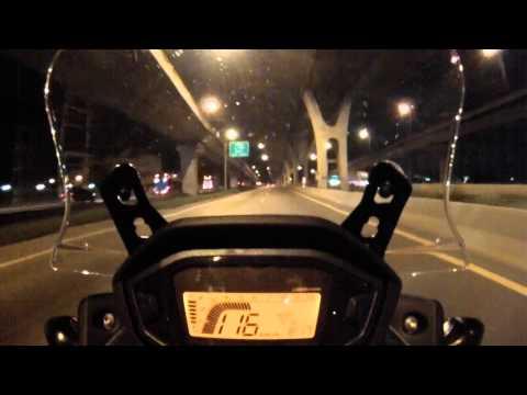 CB500X – Bangkok to Pattaya nighttime – Part 1