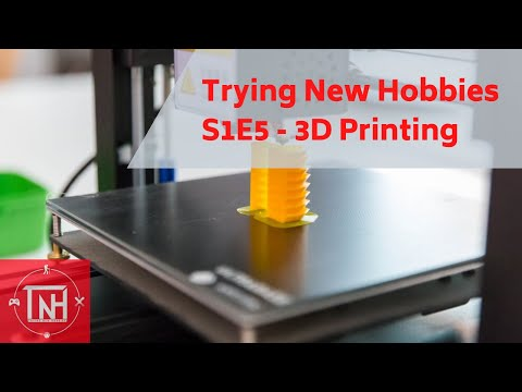 Trying New Hobbies S1E5 3D Printing With The Creality Ender 3 Pro $$$$