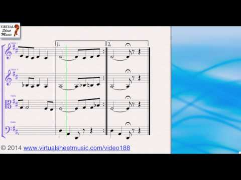 Danny Boy from from Saint Patrick's Day Collection for String Quartet sheet music - Video Score