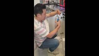 파라곤정수기 SR6, CB6 필터교체방법