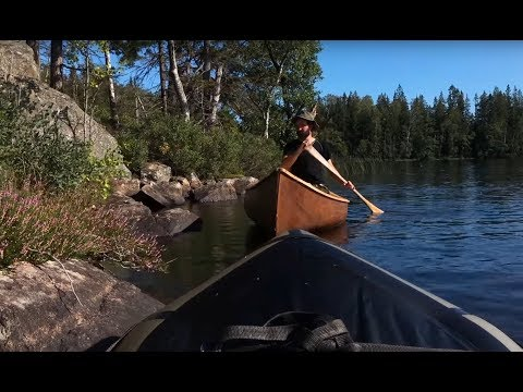 Nordic Bushcrat - 3 Days Bushcraft Trip - Wild Camping, Spoon Carving, Canvas Tarp, Fishing