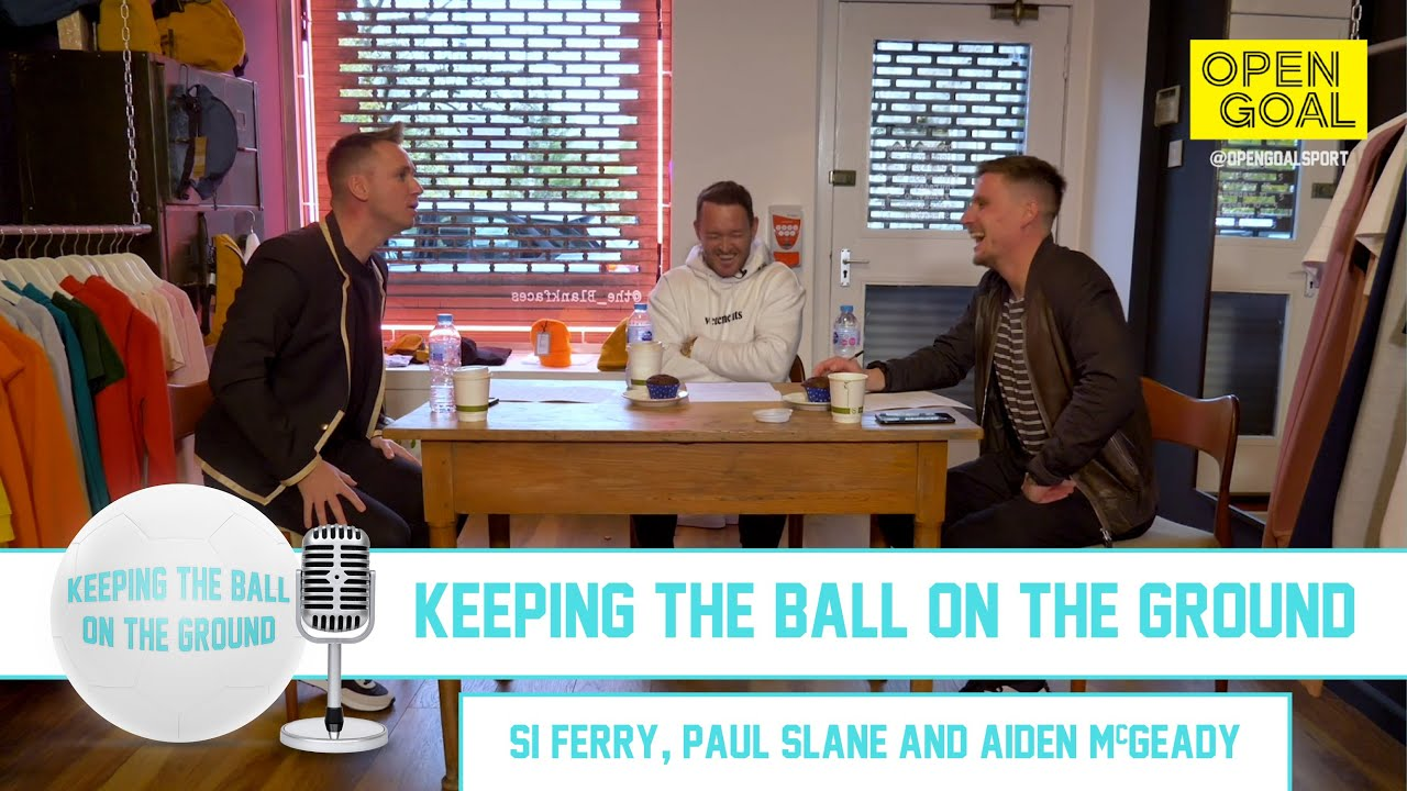 AIDEN McGEADY | Keeping the Ball on the Ground