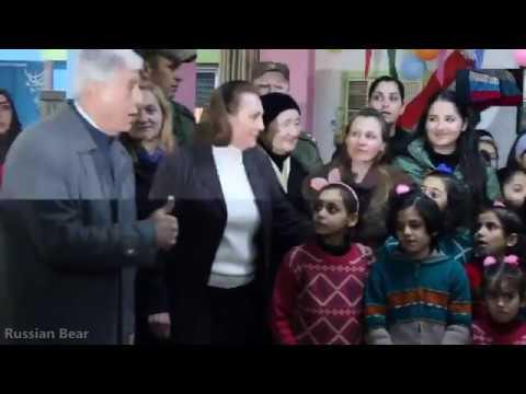 Вежливые Люди. Помощь Сирии от России = Polite people help Syria from Russia