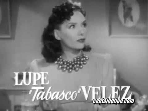 1940 MEXICAN SPITFIRE TRAILER LUPE VELEZ