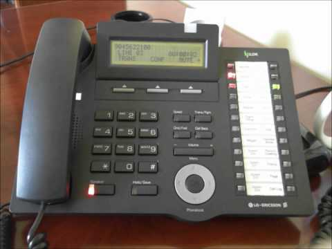 LG ipLDK-60 Speed Dial Programming