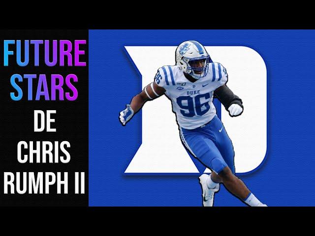 Chris Rumph II | DE | Duke | 2020 CFB Future Stars