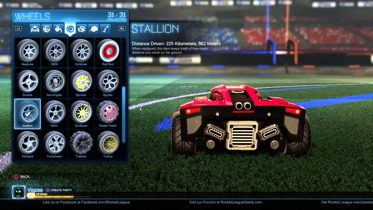 Rocket League Skin Cars