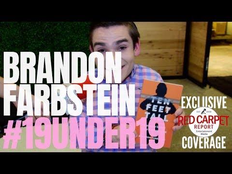 Brandon Farbstein interviewed at TigerBeat & Instagram's 3rd Annual#19Under19Celebration