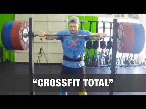 The CrossFit Total WOD
