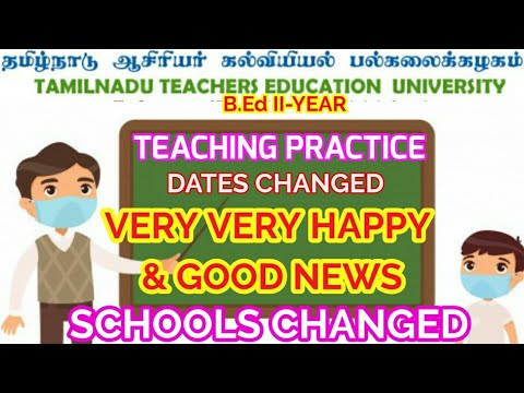 TEACHING PRACTICE DATES CHANGED||HAPPY NEWS FOR ALL||ALL SCHOOLS WE CAN GO FOR TEACHING PRACTICE