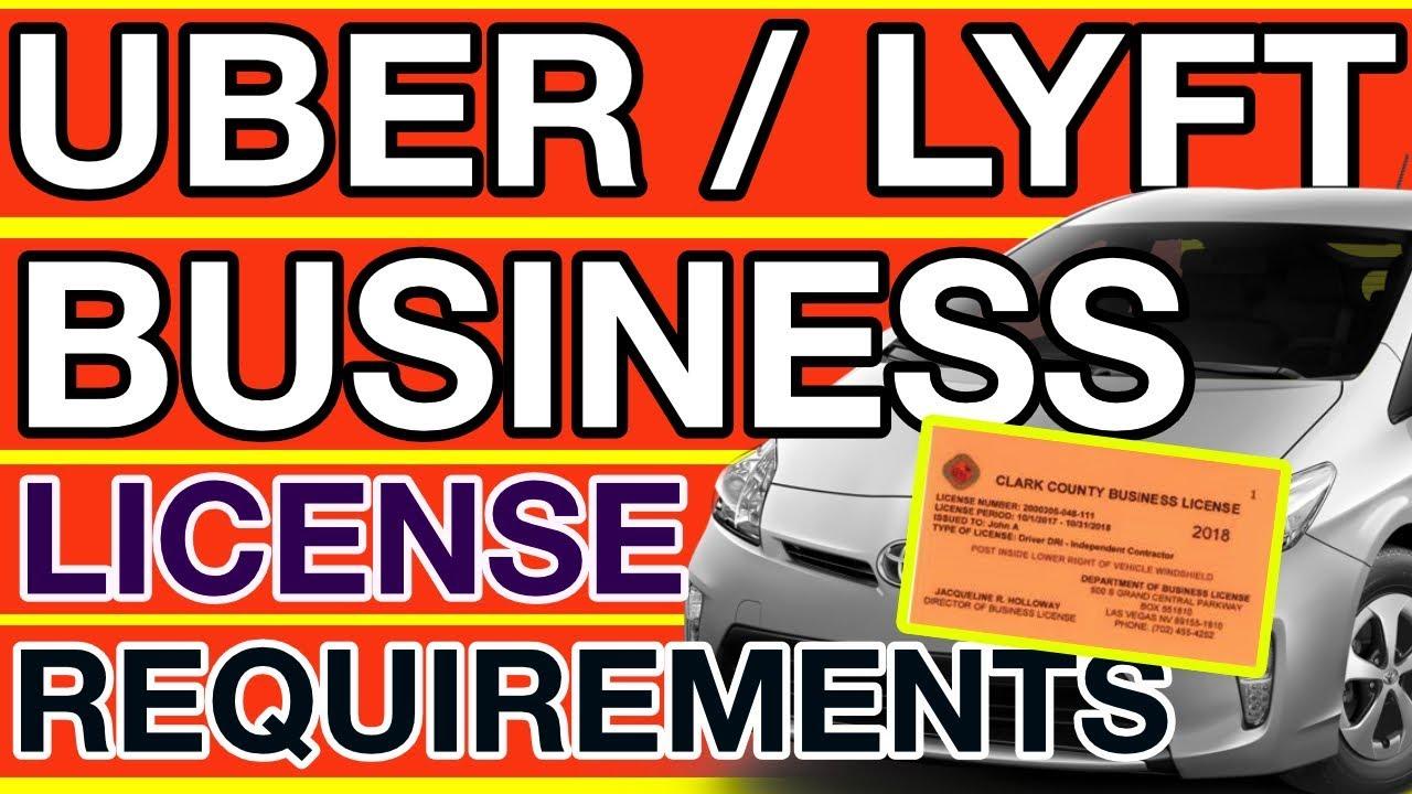 Uber Lyft Business License Update for Las Vegas
