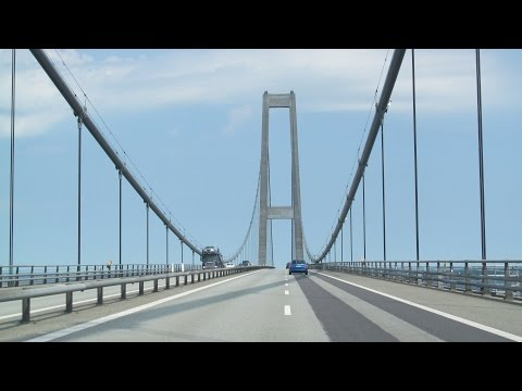 Denmark: E20 Great Belt Bridge (2016)