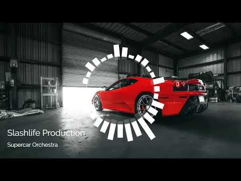 Slashlife Production - Supercar Orchestra - The song made by using car sounds only