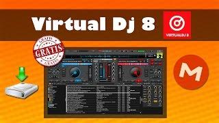 DESCARGAR VIRTUAL DJ 8 FULL en ESPAÑOL con CRACK 2016 GRATIS para Windows 10/8/7 32 y 64 BITS
