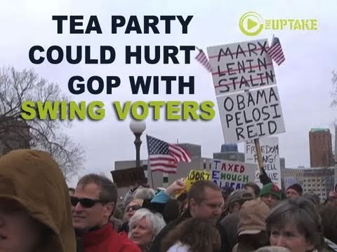 Extremist Tea Party Views Could Hurt GOP With Swing Voters