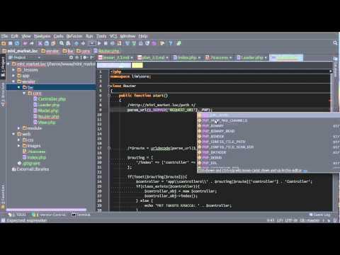 Создание интернет магазина PHP MySQL. Урок 3