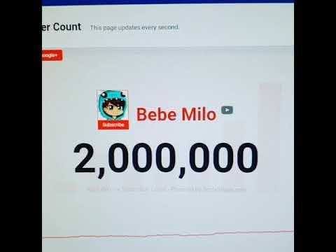 2 MILLONES DE BEBECITOS!!!! LOS AMO A TODOS!!!