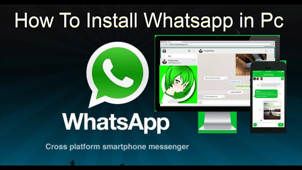 whatsapp for pc online install
