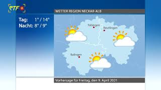 RTF.1-Wetter 08.04.2021
