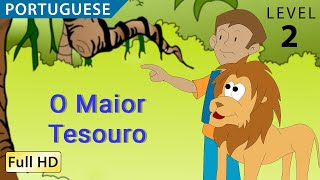 """The Greatest Treasure: Learn Portuguese with subtitles - Story for Children """"BookBox.com"""""""
