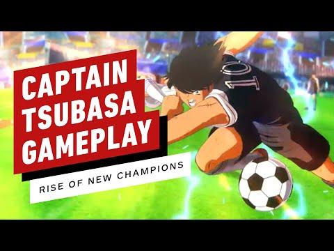 Captain Tsubasa: Rise Of New Champions - Full Match Gameplay (Toho VS Nankatsu)
