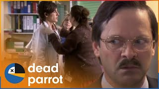 Housewarming Party | Green Wing | Series 1 Episode 5 | Dead Parrot