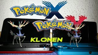 Pokemon XY Pokemon klonen german