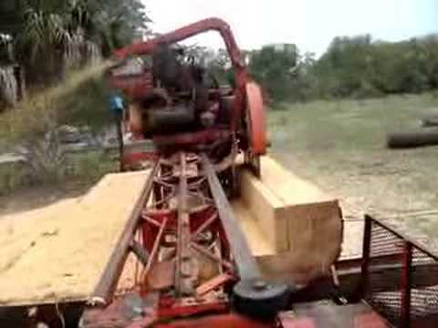 Saw Mill For Sale >> PORTABLE SAW MILL ON CREIGHTON ISLAND - YouTube
