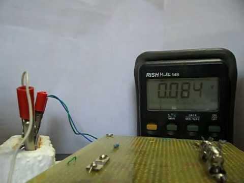 Hydrogen Sensor Works at Room Temperature .AVI