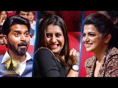 DD, Priyanka & Ma Ka Pa's Unseen Funny Candid Moments At Galatta Nakshatra Awards 2019