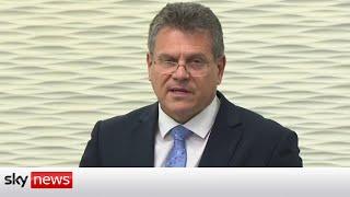 EU rejects UK proposal to change NI protocol