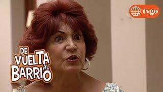 ¡Amanda se indigna al saber que Pedrito está con Teodora! - De Vuelta al Barrio 12/04/2018