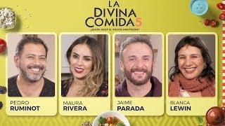 La Divina Comida - Pedro Ruminot, Maura Rivera, Jaime Parada y Blanca Lewin