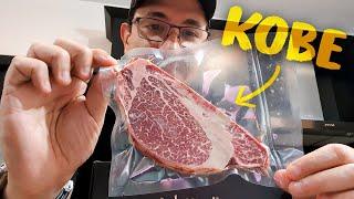 Compre la carne Kobe ! | Puse aprueba a marcelo y a mi esposa  ...