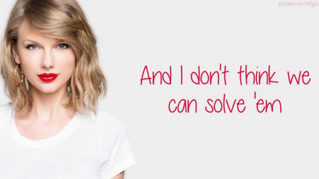 Download Taylor Swift – Bad Blood (Lyrics)