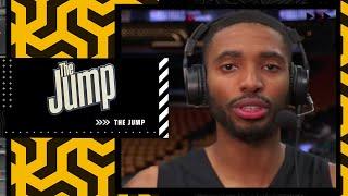 Phoenix Suns forward Mikal Bridges joins The Jump ahead of #NBAFinals Game 5