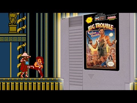 Big Trouble in Little China for Nintendo - NES Hacks