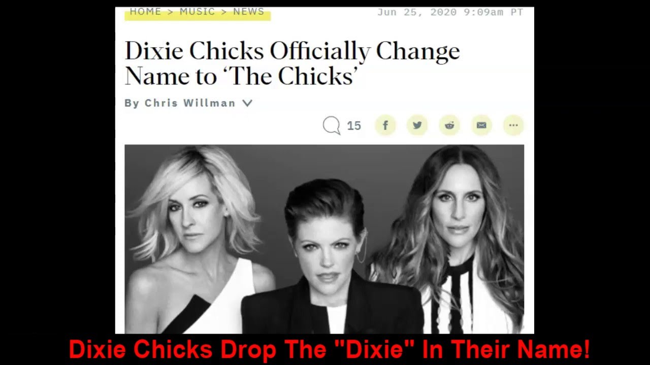 The Dixie Chicks Appear to Have Changed Their Name, Dropping ...