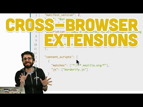 11.8: Cross-Browser Extensions - Programming With Text