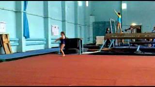 Вольные упражнения. Спортивная гимнастика. София 8 лет
