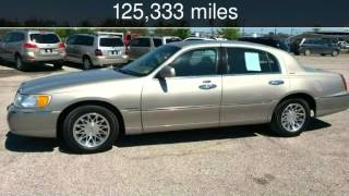 2001 Lincoln Town Car Signature Used Cars - Terrell,Texas - 2014-04-10