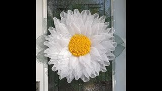 UITC™ Daisy (Gerbera) Wreath / Easy DIY Flower Wreath